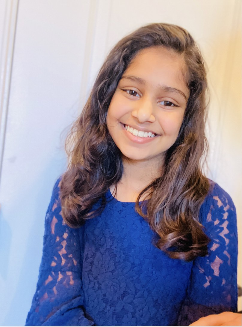 Elina Brahmandam, 11, is an author of two books in one year
